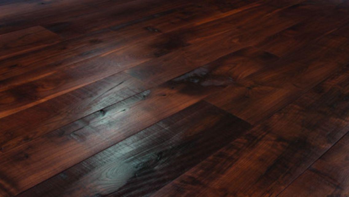 I Love These Rough Cedar Plank Floors