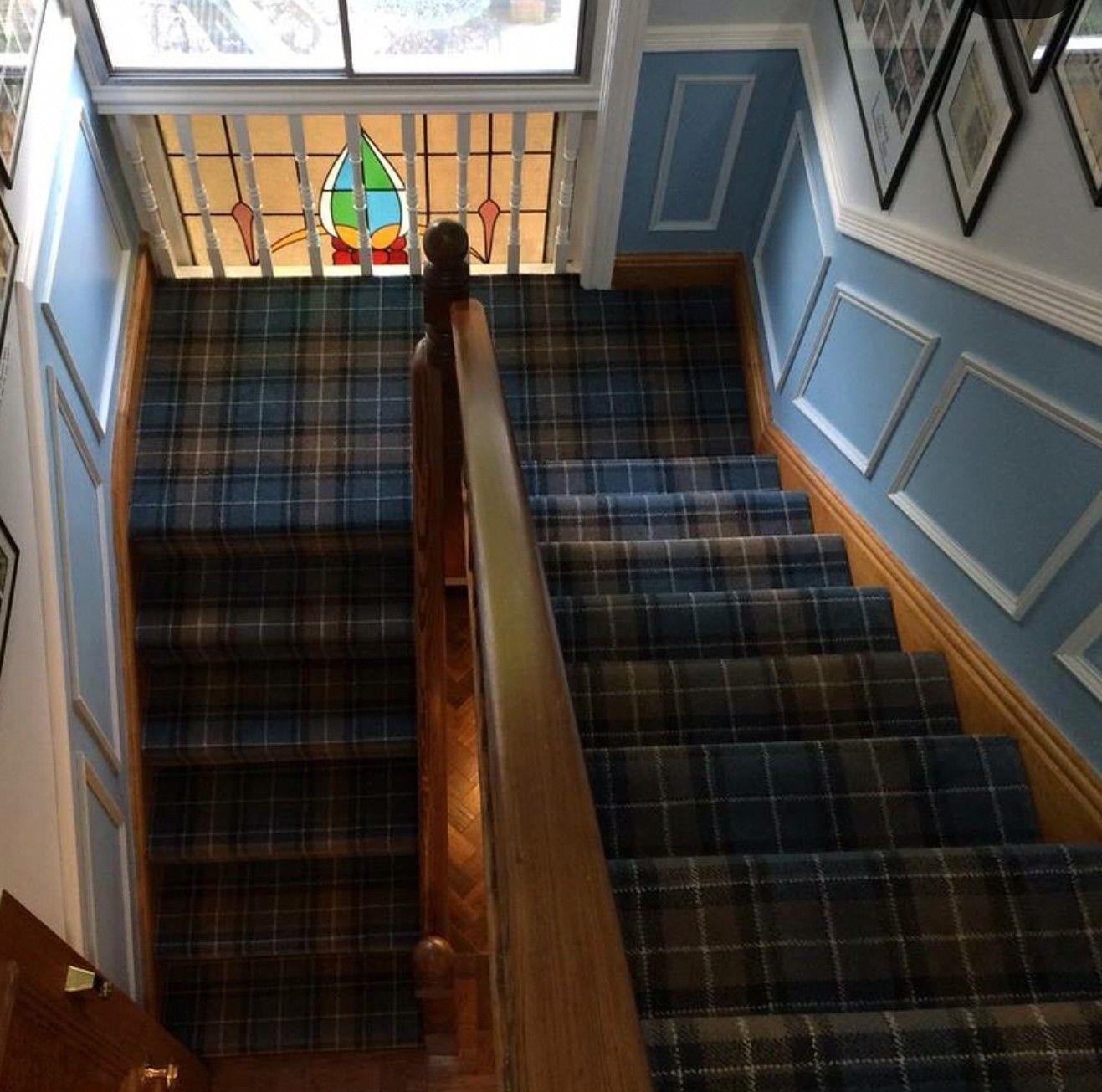 Best Plaid Stairway Carpet Repair Carpet Stairs Stairways 400 x 300