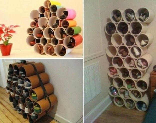 Interessante riciclo tubi di cartone ba pineglen