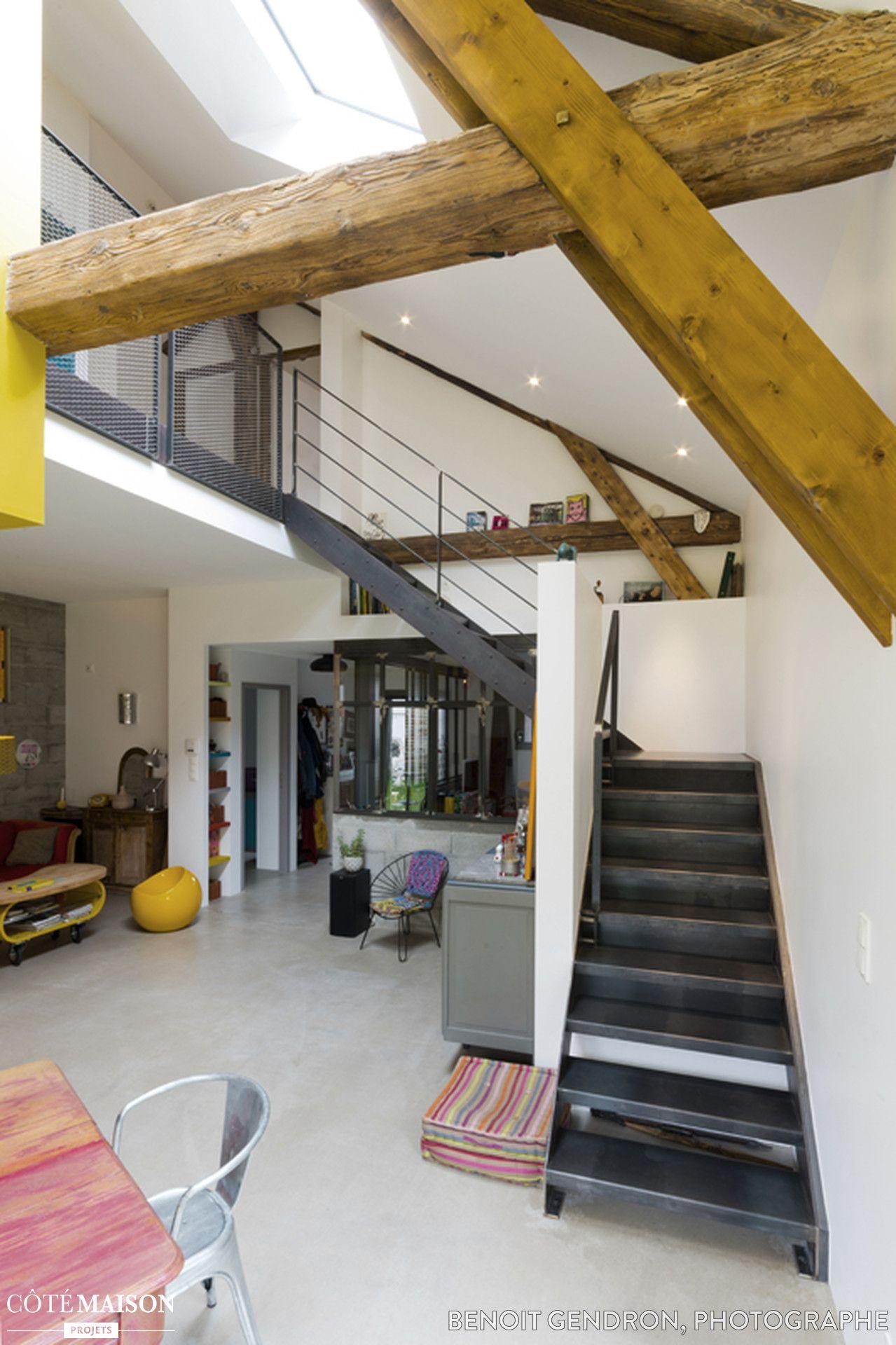 aménagement d'un loft à nantes, loic ruffat - côté maison   pièces