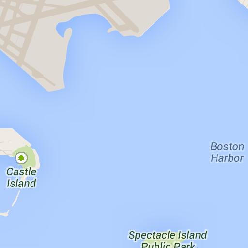 Boston Harbor, Boston, MA - Google Maps   destinations: continental ...