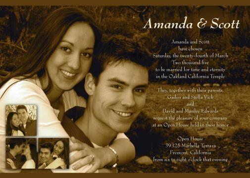 Lds Wedding Invitations Google Search