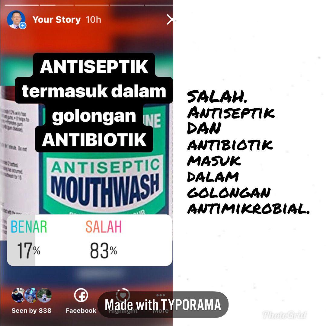 Antiseptik Survey Membuktikan Masih Belom Banyak Yang Paham Seputar Antiseptik Dan Atau Desinfektan Kalau Ada Yang Mau Didiskusiin Tingg Instagram Posting