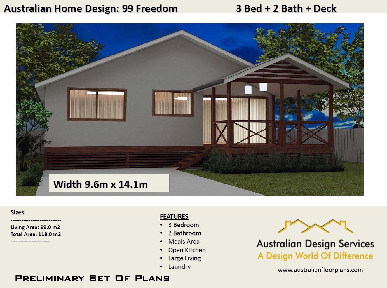 3 Bedroom Country Style Design 1274 Sq Foot 118 Sq Etsy House Plans Australia House Plans For Sale Bedroom House Plans