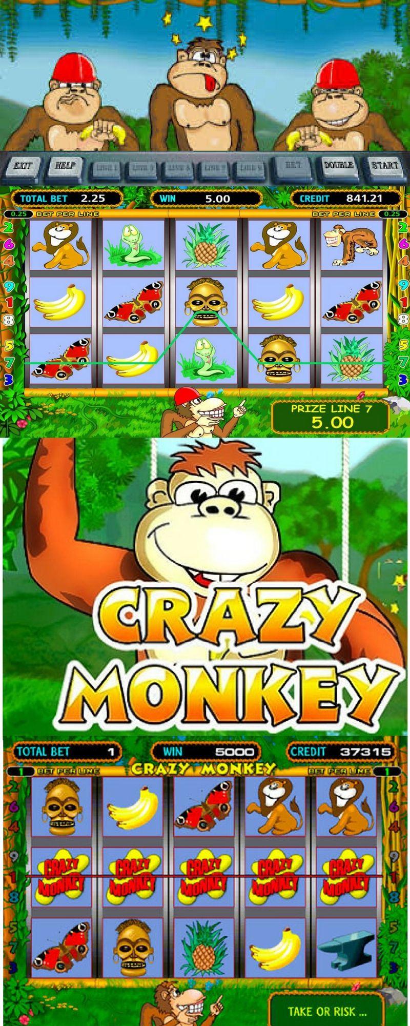 Игровые автоматы гаминатор обезьянки фишка в казино на английском