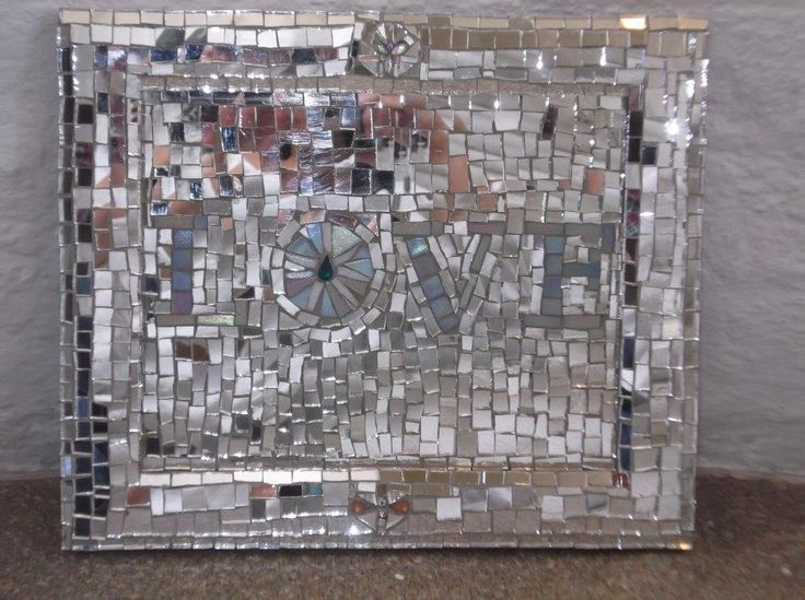 How To Decorate A Mirror With Mosaic Tiles 1000 Images About Mosaics With Mirrors On Pinterest  Mosaic Wall