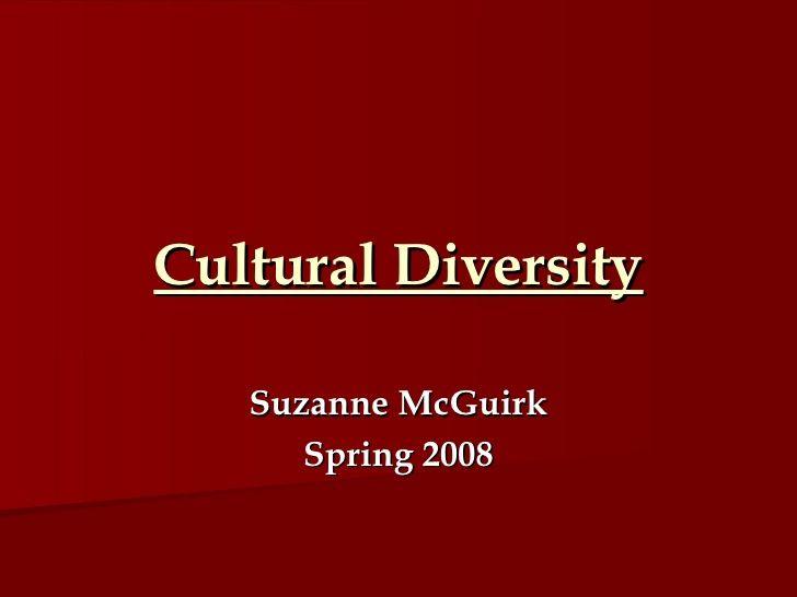 Cultural Diversity Lesson Plan Cultural Diversity Lesson