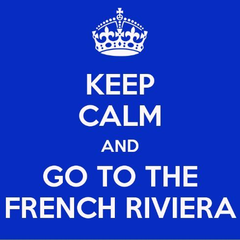 Some very sound advice for you all!!! #FrenchRiviera