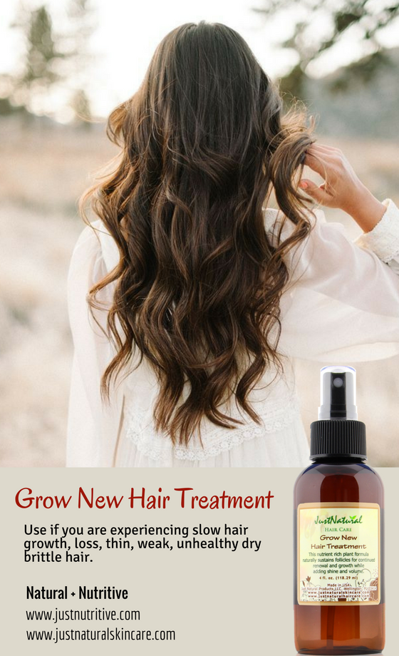 Use if you are experiencing slow hair growth, hair loss ...
