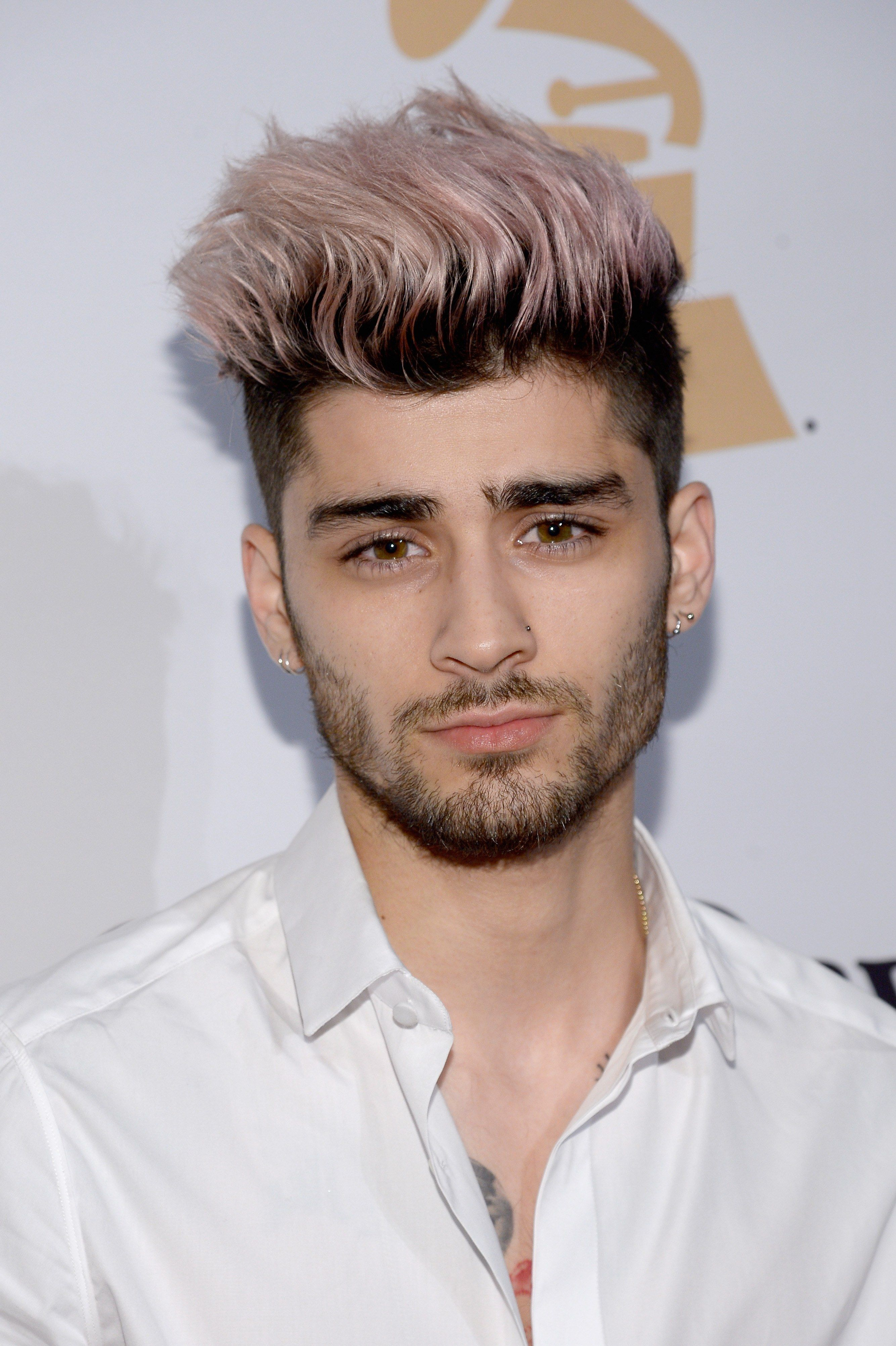 zayn malik debuts a brand-new hair color on a date with gigi