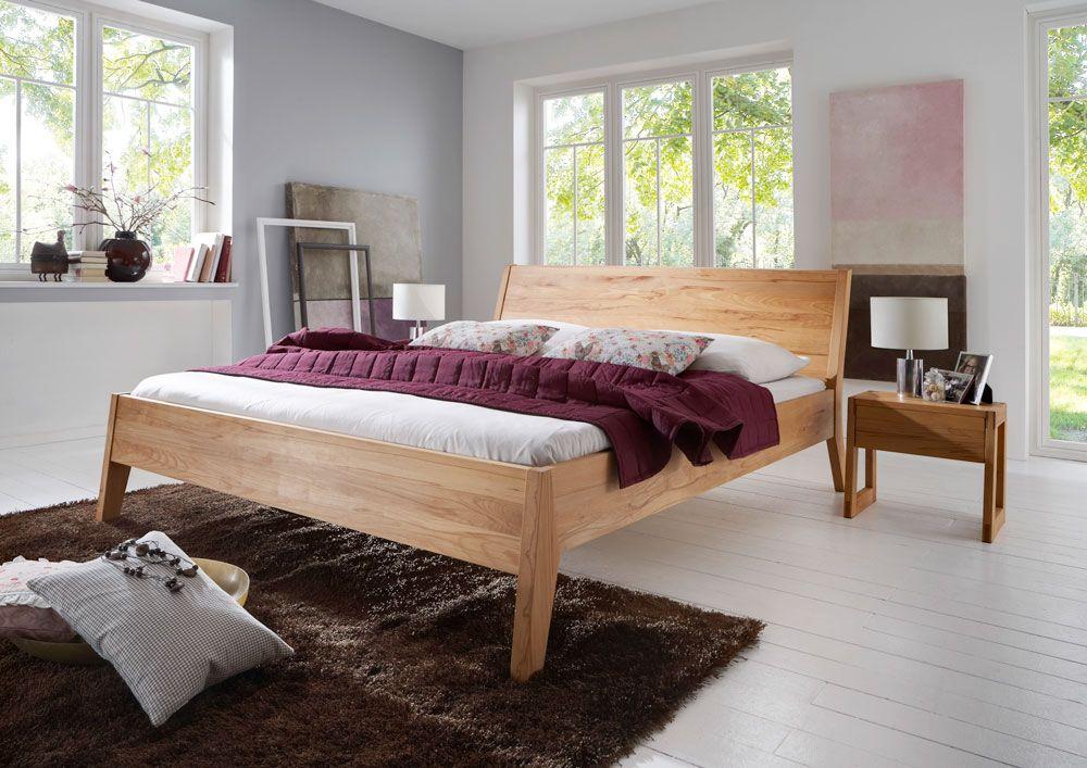 Bett TORINO, Kernbuche massiv Das moderne puristische Design und - schone betten moderne schlafzimmer