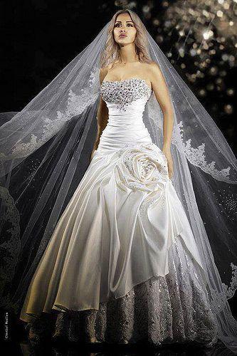 Pin von 1pic4u auf Wedding Dresses | Pinterest | Wedding dress ...