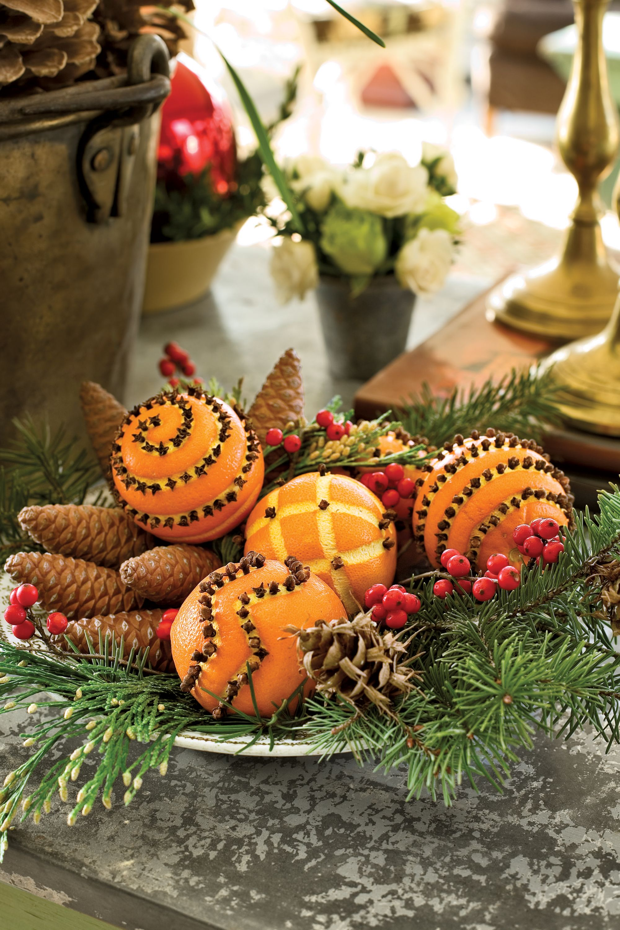 50 Best Christmas Table Decorations For All Your Holiday Parties Natural Christmas Christmas Time Simple Christmas