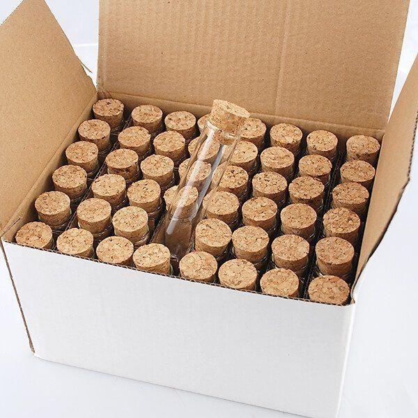 Giveaway Hochzeit: Glasröhrchen Für Gastgeschenke, Mittel, 48 St