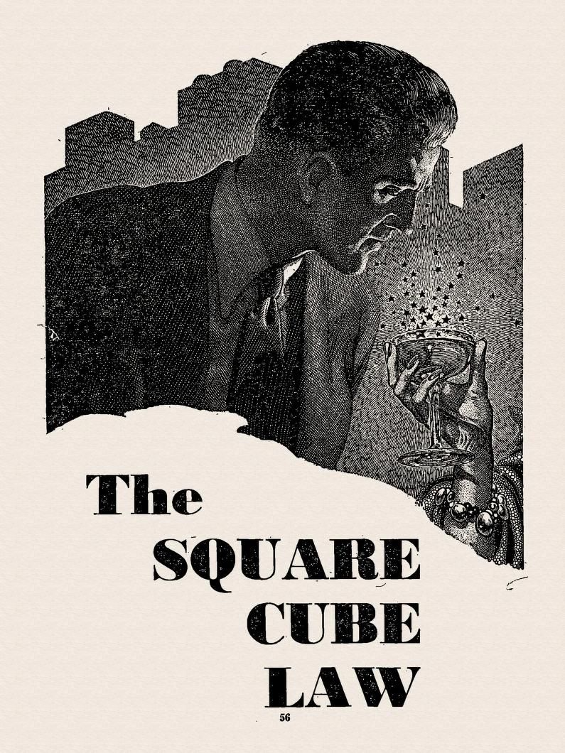 virgil finlay the square