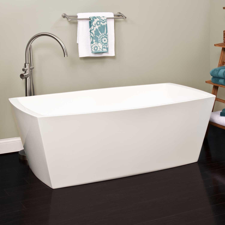 Avie Acrylic Freestanding Air Tub | Air tub, Tubs and Bath