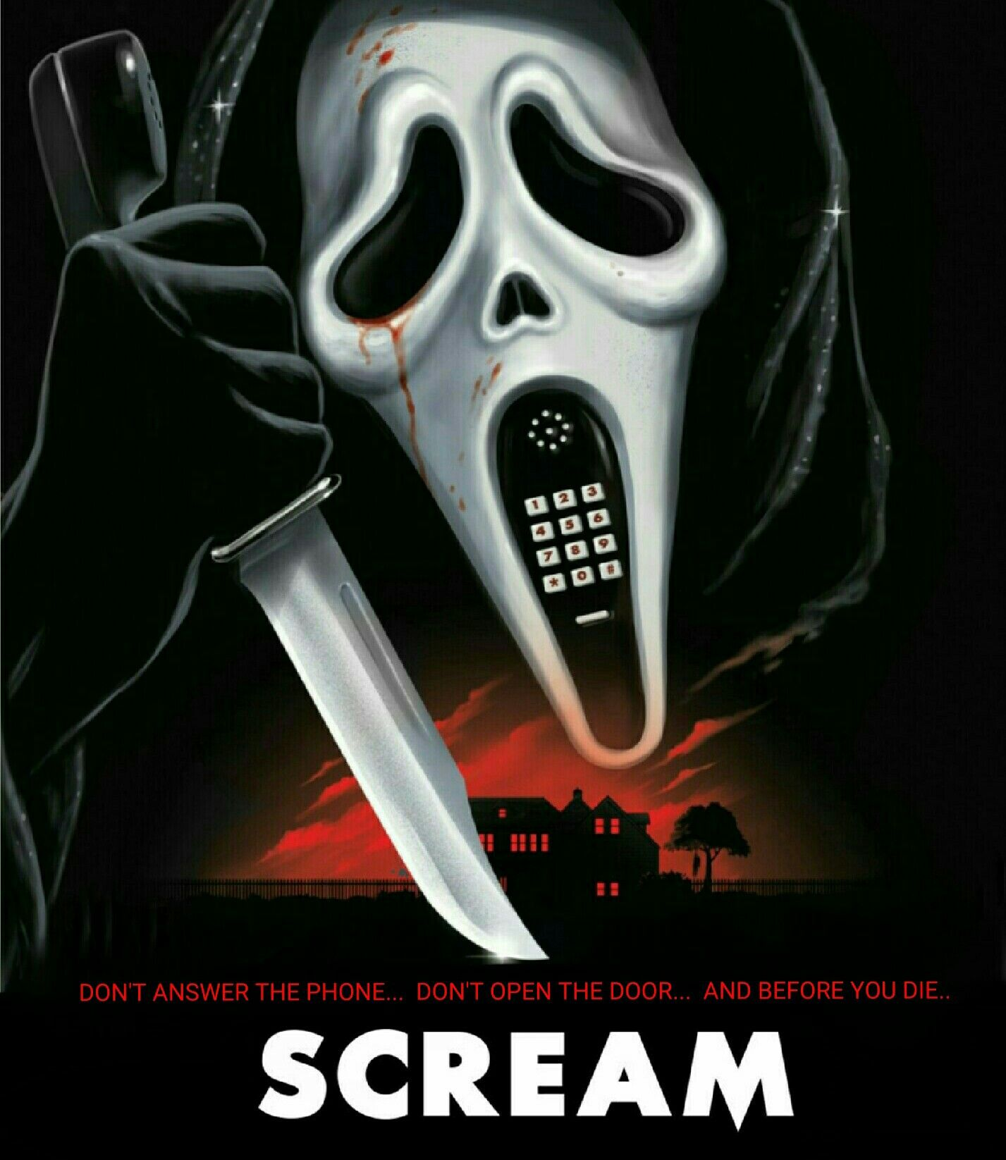An analysis of the horror movie scream created by wes craven