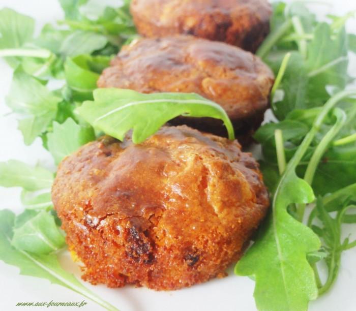 Recette muffins salés au chorizo et chèvre