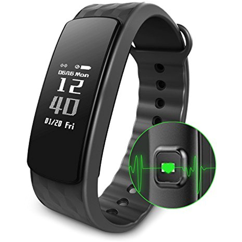 Alisten Fitness Activity Tracker, Smart Watch Band Heart