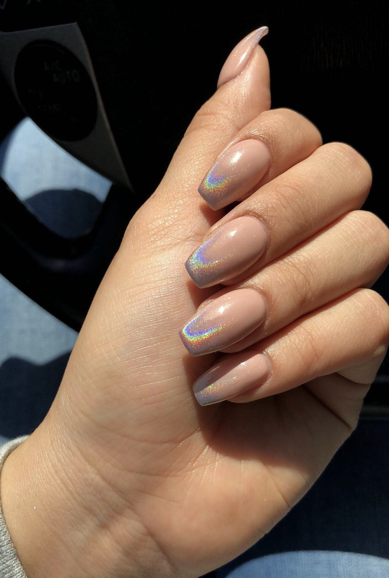 Chrome Ombre Nails