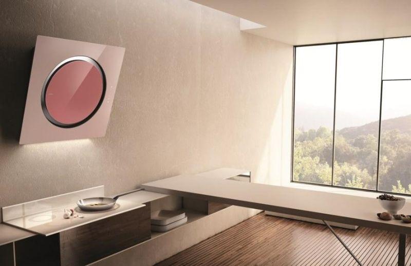 Moderne Dunstabzugshaube als Blickfang in der Küche \u2013 100 Design Ideen - küche dekorieren ideen