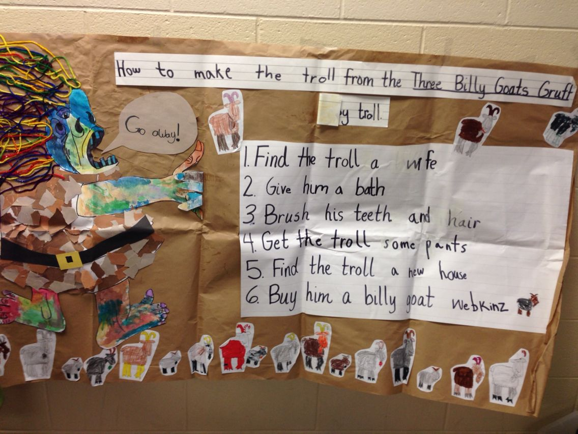 3 Billy Goats Gruff With Images