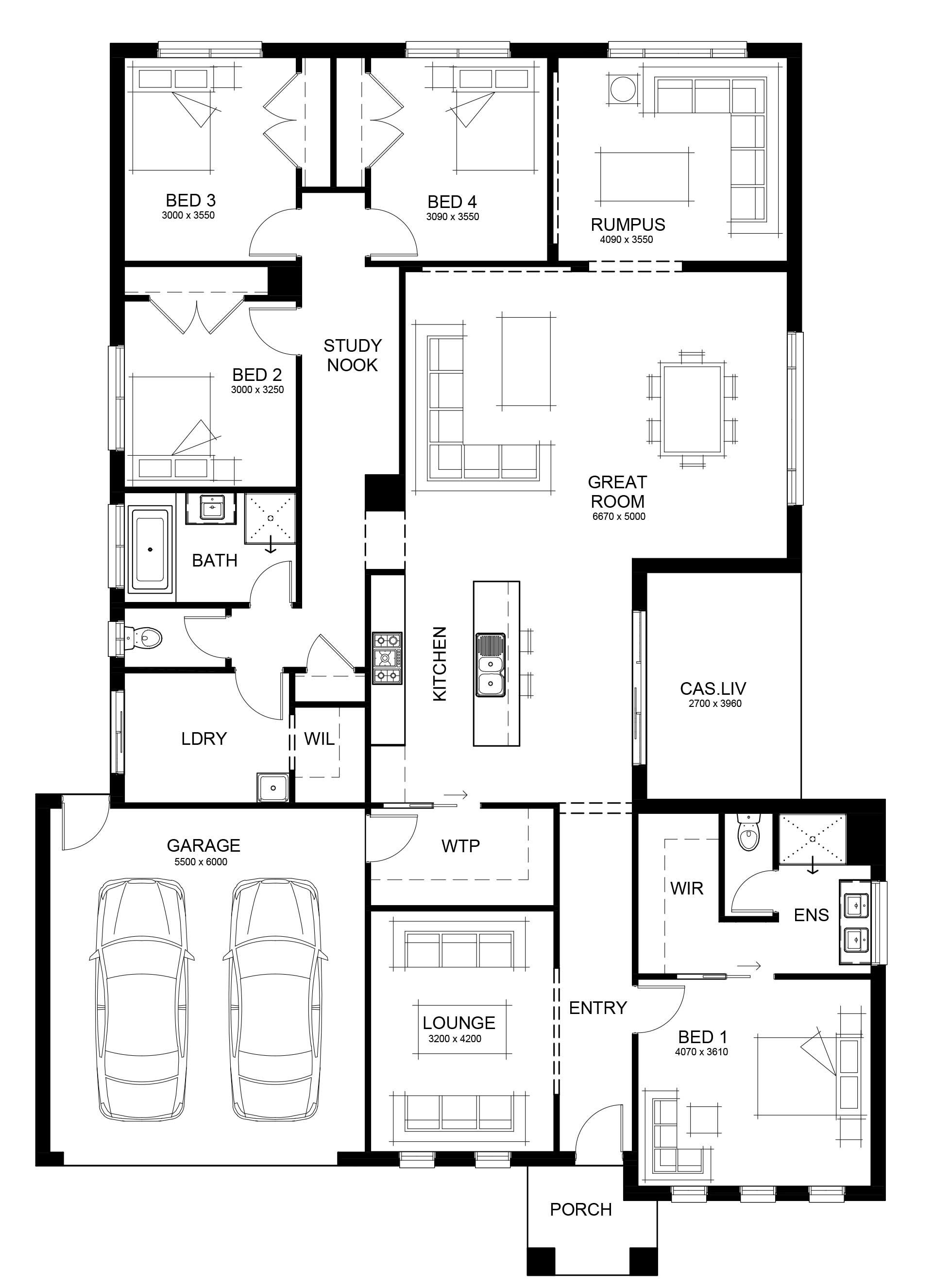 Floor Plans Of Taya 280 By Long Island Homes 4 Bedroom House Plans Floor Plans House Floor Plans