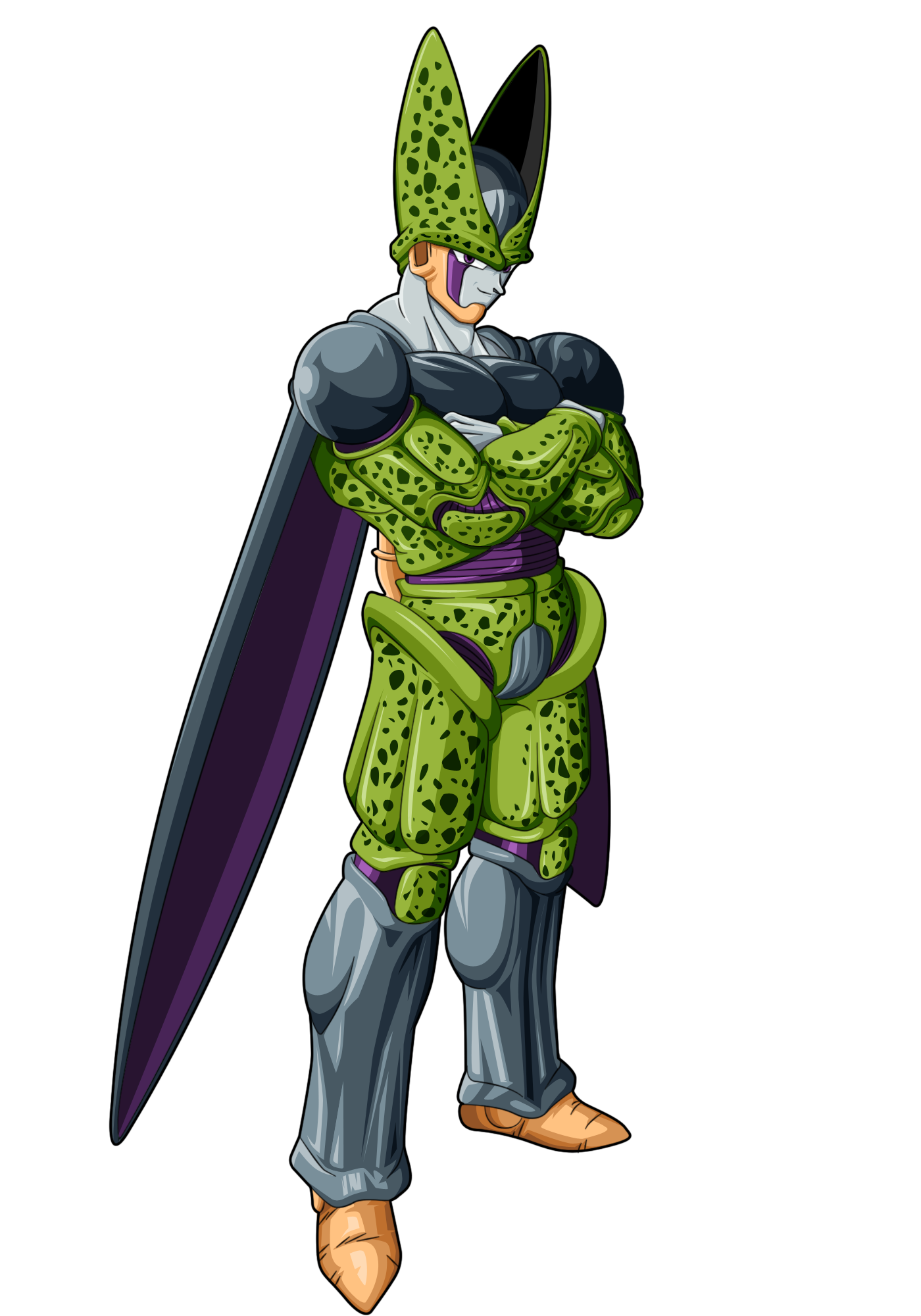 Perfect cell by noname37 on deviantart deviantart and or tumblr animes manga drag o boll - Dragon ball z baby cell ...