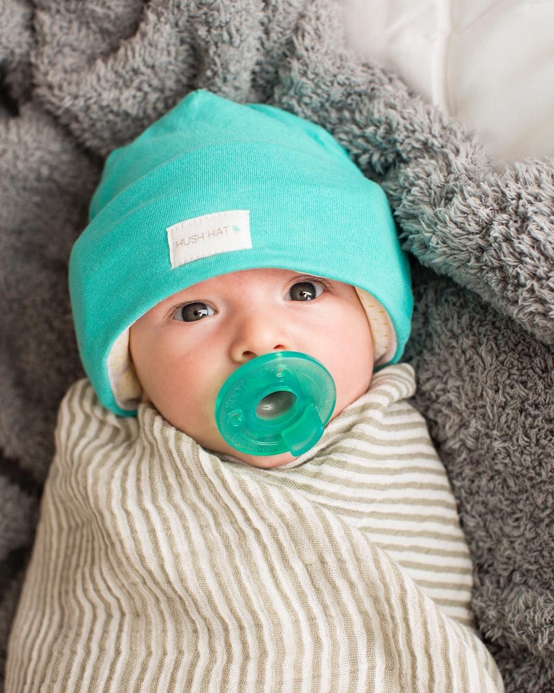 Signature Topaz HUSH Hat. 🍼  newborn  baby  boy  mom  pregnant  nap  sleep 70c926b9fc8