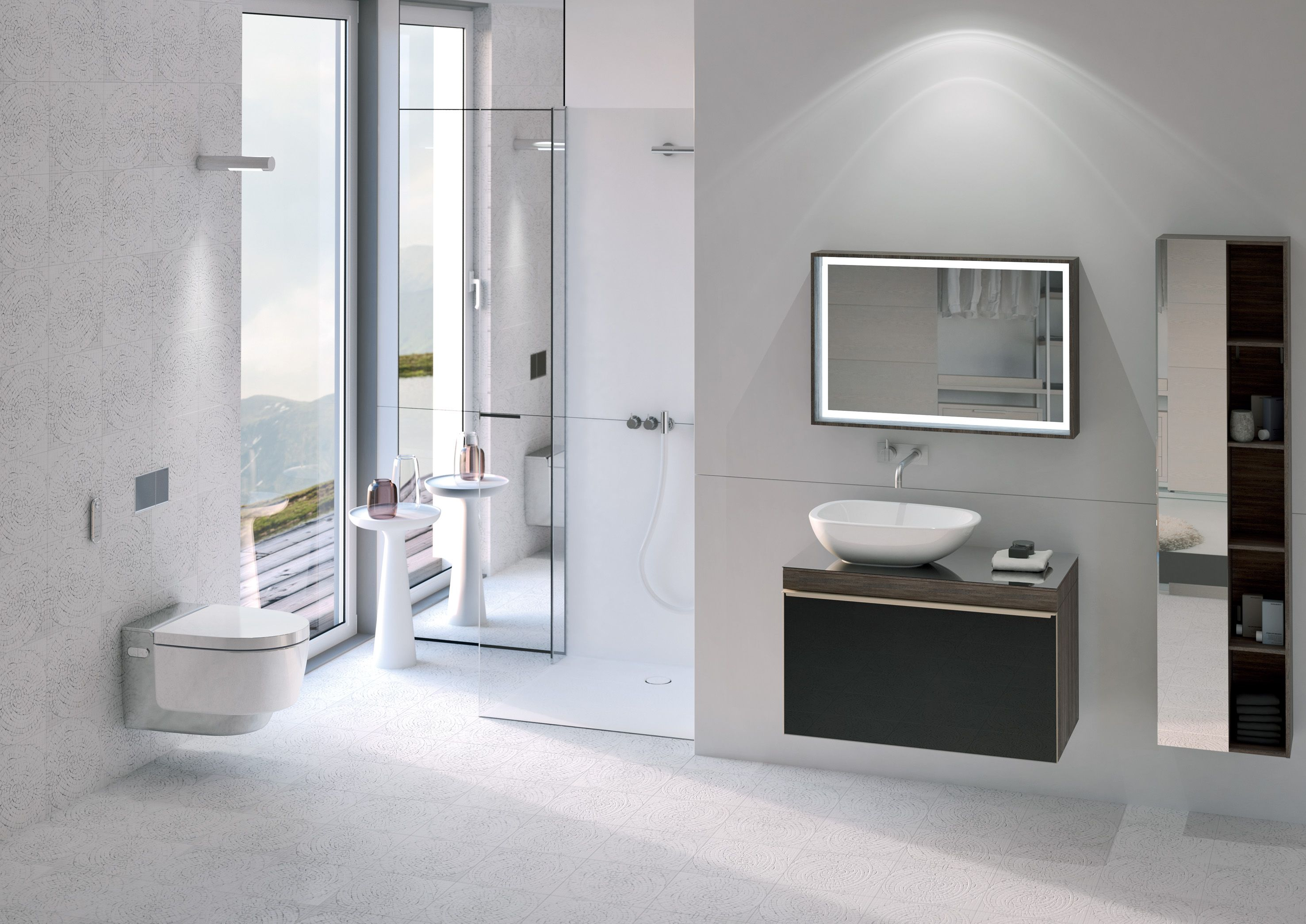 Geberit Aquaclean Mera classic douche wc badkamer design | 1. Bidet ...