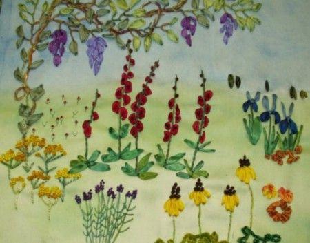 Blumenwiese Englisch seidenbändchen blumenwiese verschiedene quellen geben ungefähr das