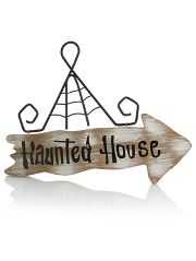Asda Haunted House Sign | Halloween party essentials ...