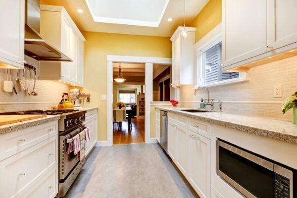 Corridor Kitchen Design Unique Design