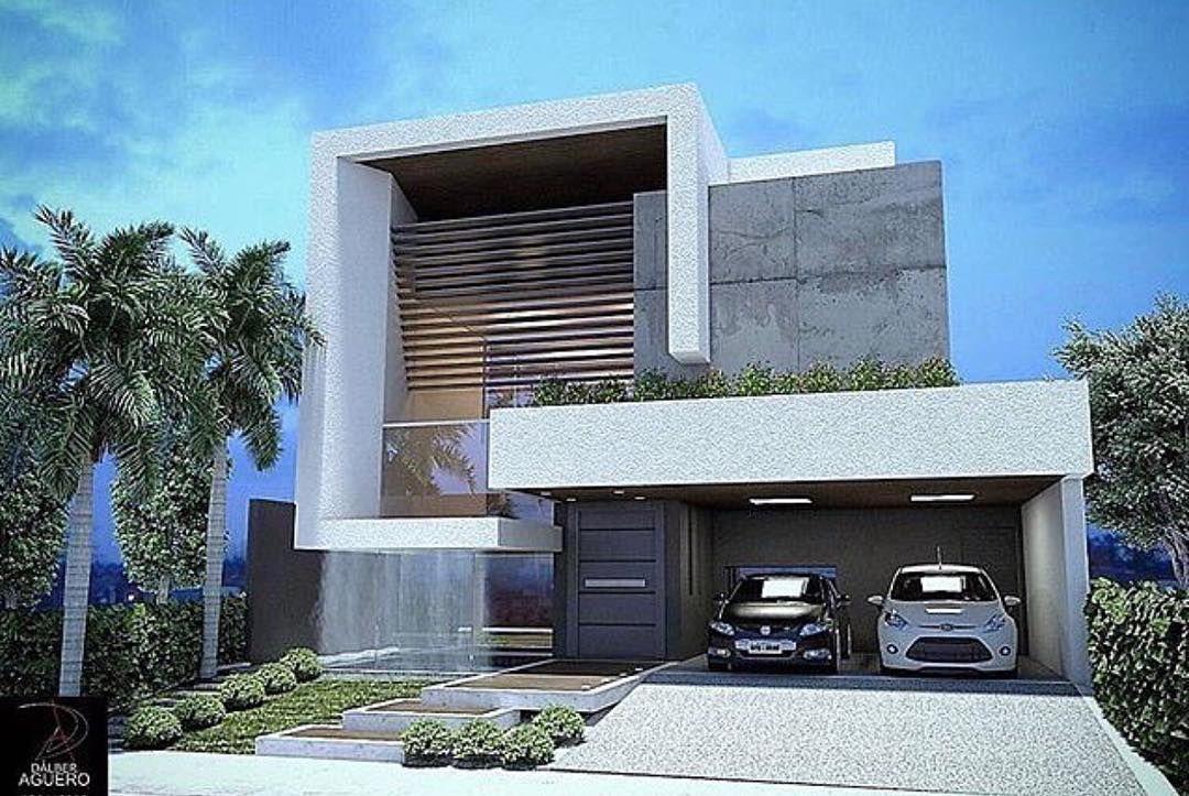 House Design by Dalber Aguero ArchitectureDecoraçao Design - fachadas contemporaneas