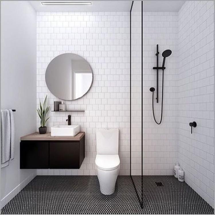 20 Fabulous Minimalist Bathroom Shower Design Ideas Ide Kamar Mandi Kamar Mandi Kamar Mandi Mewah