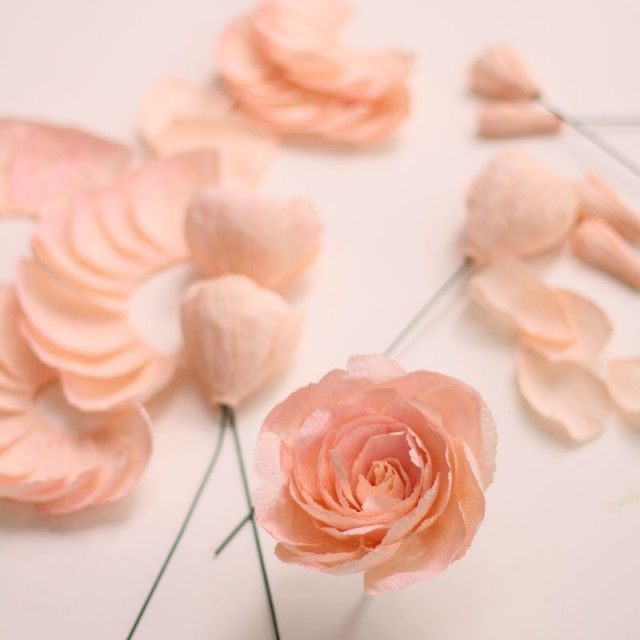 Fresh cut paper flowers the garden rose paper flowers pinterest fresh cut paper flowers the garden rose by appetite paper for oh so beautiful paper mightylinksfo