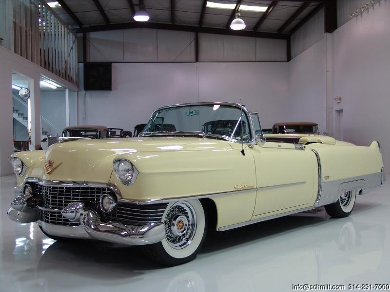 DANIEL SCHMITT & CO CLASSIC CAR GALLERY PRESENTS: 1954 CADILLAC ELDORADO CONVERTIBLE