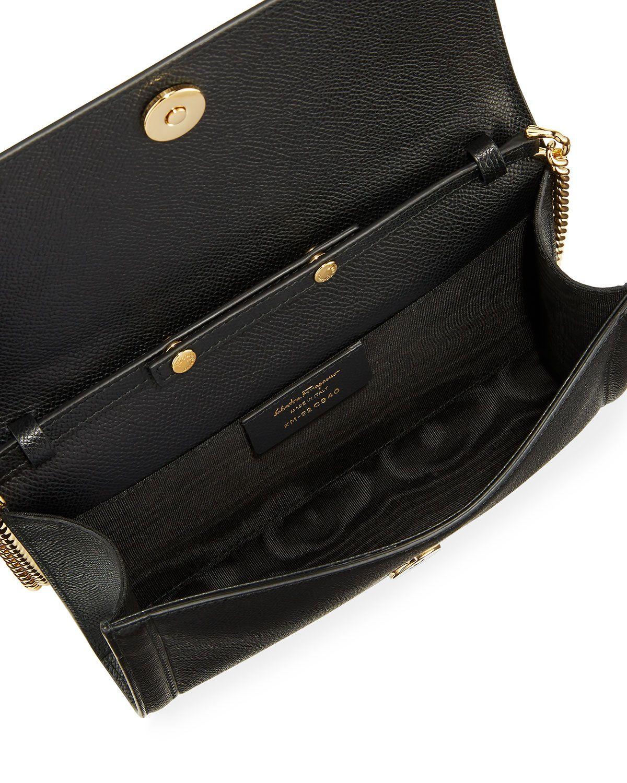 dba65a3890d0 Salvatore Ferragamo Vara Mini Saffiano Crossbody Bag