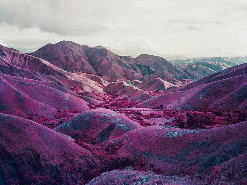 by Richard Mosse / infra