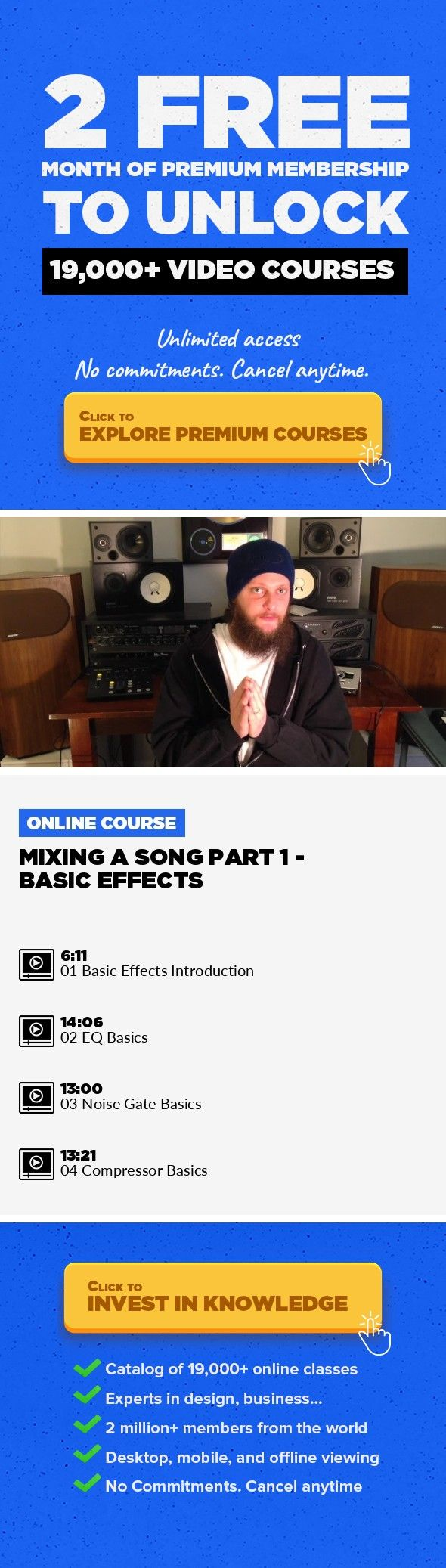 Mixing a Song Part 1 - Basic Effects Audio Post Engineering
