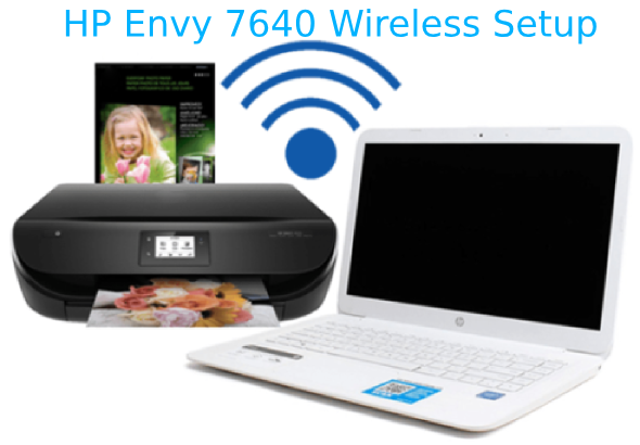 HP Envy 7640 wireless setup solution available to setup