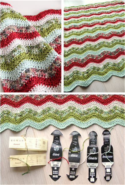 Ripple crochet blanket. It\'s beautiful blankit, and beautiful color ...