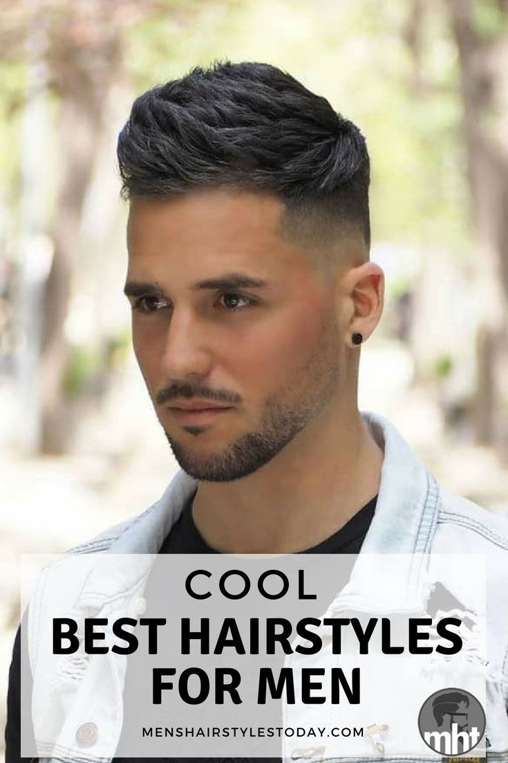 Medium short haircut men  cool hairstyles for men  haircut  pinterest  short haircuts