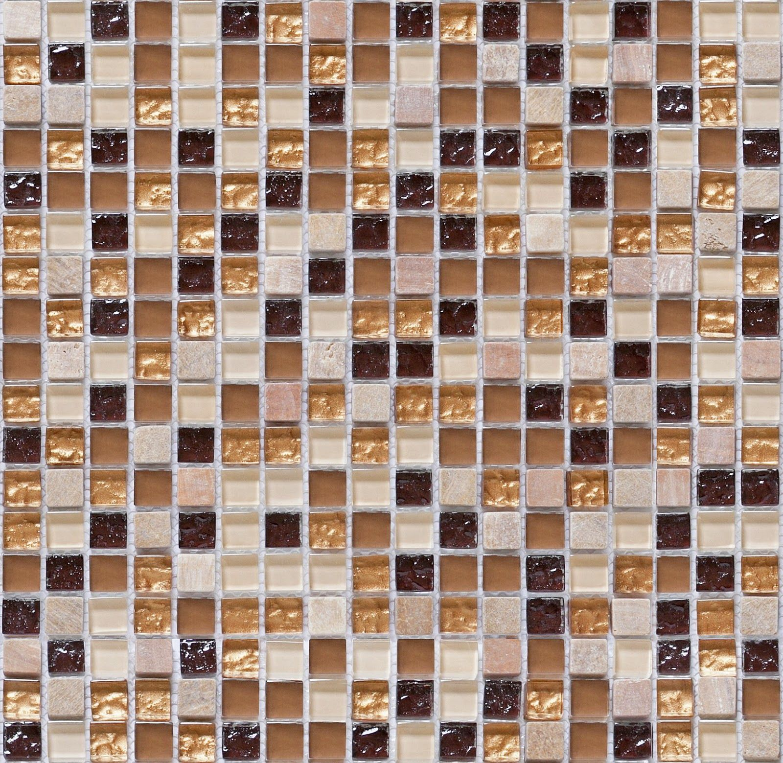 Seamless Mosaic Tiles Texture Maps