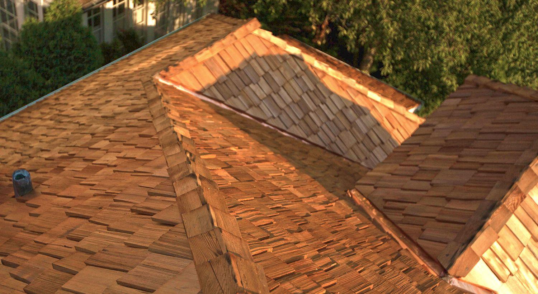Nice Cedar Roof Maintenance!
