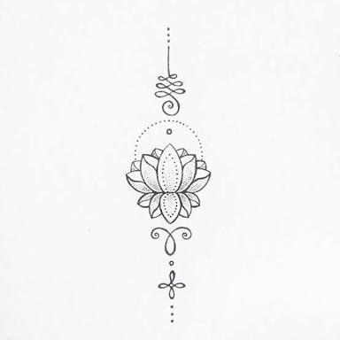 Pin On Tatuaje De Brazo Yoga Tattoos Unalome 14