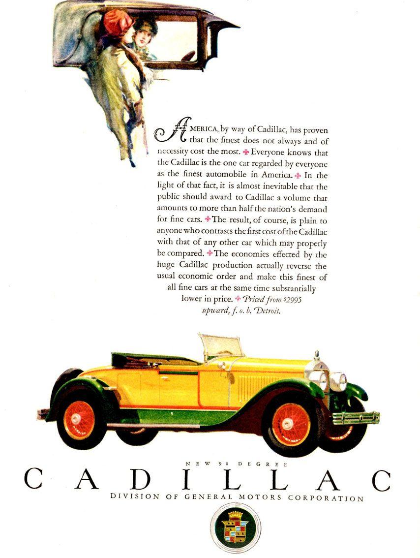 Jack Schmitt Cadillac >> Pin on Vintage Ads