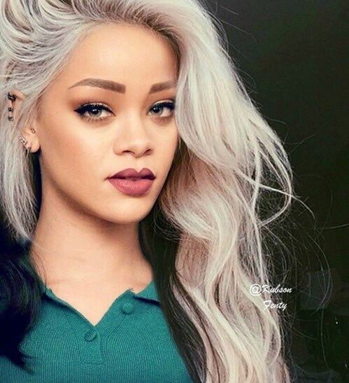 Image Result For Rihanna Grey Hair Tumblr