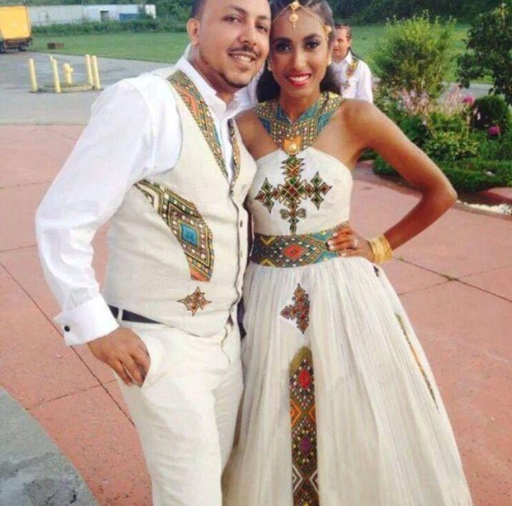 Traditional ethiopian turned into wedding dress wedding for Ethiopian wedding dress designer