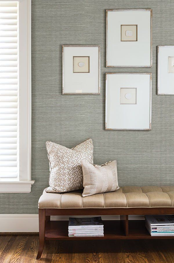 Grey Grasscloth Wallpaper Thibaut Wallcoverings Grasscloth Grey Wallpaper Ab Grasscloth Wallpaper Dining Room Dining Room Wainscoting Grey Grasscloth Wallpaper